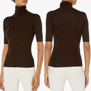 Theory Leenda Regal Wool Turtleneck Sweater